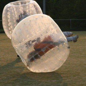 Bubbel voetbal op locatie met begeleiding - Provincie Utrecht