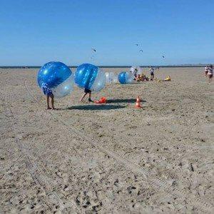 Bubbel voetbal op locatie met begeleiding - Zeeland