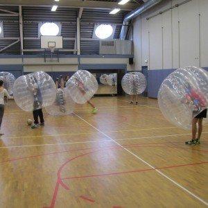 Bubbel voetbal op locatie met begeleiding - Zuid-Holland