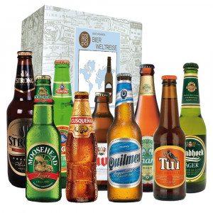 Cadeaumand: wereldreis met bier - negen bieren