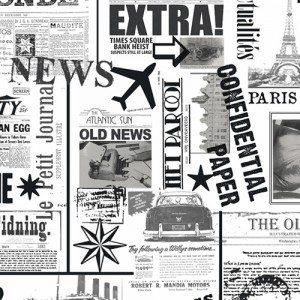 Cadeaupapier ''nieuws''
