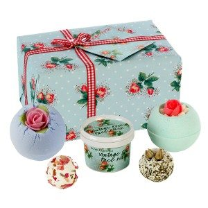 "Cadeauset ""Vintage Rose"" voor in bad"