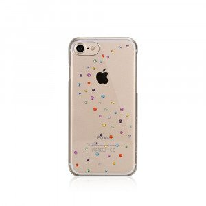 "iPhone 7 beschermhoesje ""Cotton Candy"" met Swarovski-kristallen"
