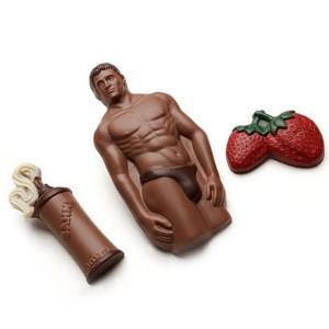 Chocolademan voor in de late uurtjes