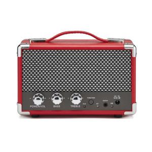 Compacte bluetooth-luidspreker - rood - stijlvol interieurdesign