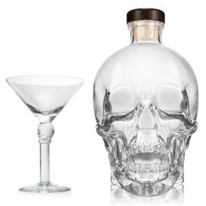 Crystal Head Wodka – cadeauset met Martiniglas