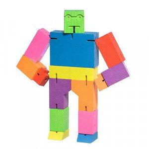 Cubebot - robot puzzel met allerlei trucjes