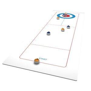 Curling voor thuis op tafel