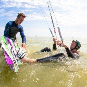 Cursus kitesurfen 6 uur - Friesland