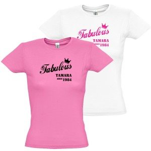 "Dames T-Shirt ""Fabulous"""