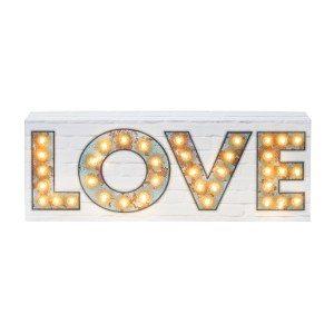 """Decoratieve verlichting """"love"""""""