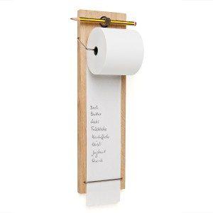 Denkbriefjes - houten boodschappenhulpje
