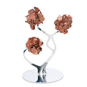 """Design muntjeshouder """"kleine bloemen"""""""