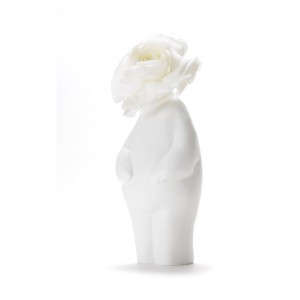 """Designvaas – """"Flowerman"""" staand"""