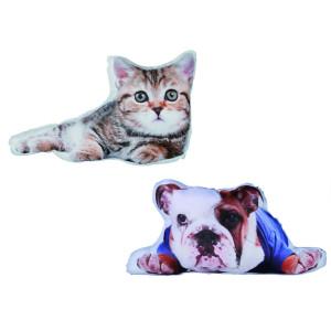Dierenkussentje - keuze uit kat of hond