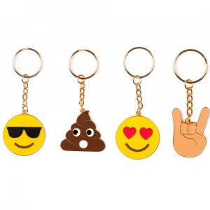 Emoji-sleutelhanger