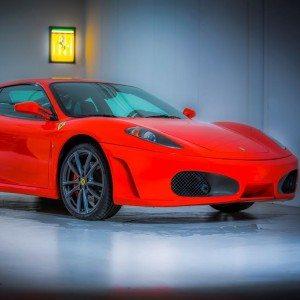 Ferrari F430 F1 - Op locatie