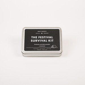 Festival-survival-kit voor mannen