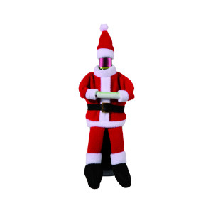 bottle cover santa claus
