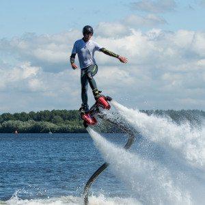 Flyboarden - Utrecht in de lucht