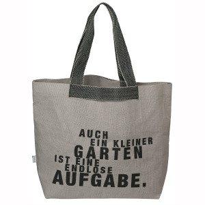"""Gartentasche """"Auch ein kleiner Garten…"""""""