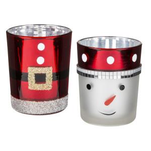 Tea light holder wintertime