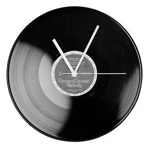 Grammofoonplaat klok