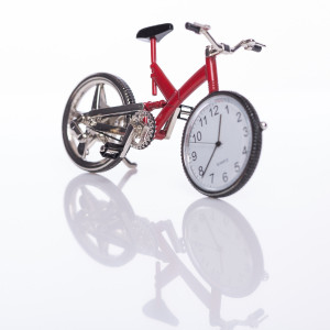 Grappig klokje ''fiets''