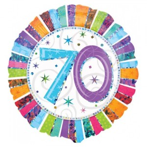 "Heliumballon ""70e verjaardag"""