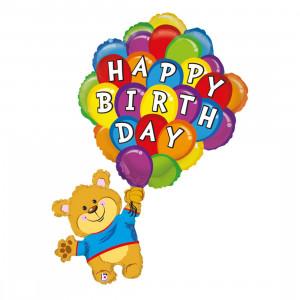 "Heliumballon: Beer ""Happy Birthday"""