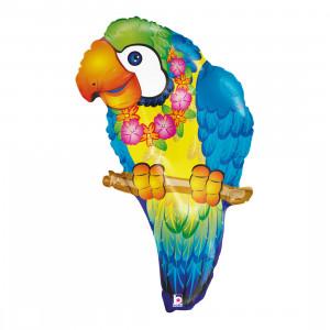 "Heliumballon ""Bonte papegaai"""