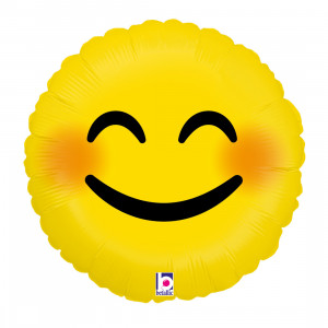 "Heliumballon ""Emoji smiley"""