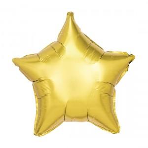 "Heliumballon ""Gouden Ster"""