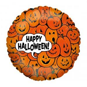 """Heliumballon Halloween """"Pompoenen"""""""