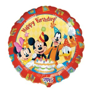 "Heliumballon ""Happy Birthday"" (Disney)"