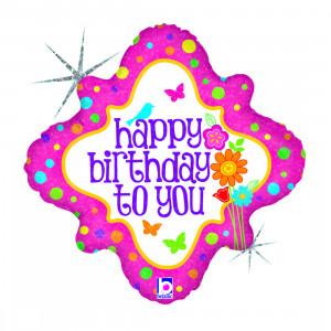 "Heliumballon ""Happy Birthday to You"""