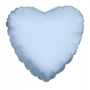 "Heliumballon ""Lichtblauw Hart"""