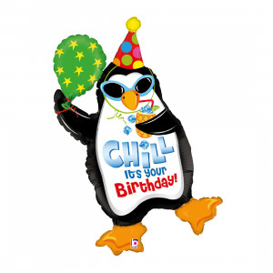 "Heliumballon ""Party-pinguïn"""
