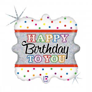 "Heliumballon ""Verjaardagskaars"""