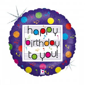 """Heliumballon """"Verjaardagsliedje"""""""