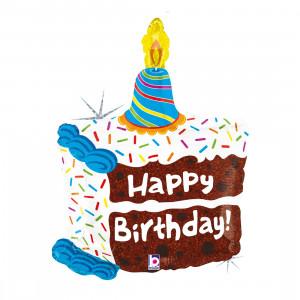 "Heliumballon ""Verjaardagstaart"""