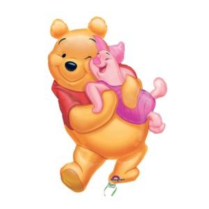 """Heliumballon """"Winnie de Poeh & Knorretje"""""""