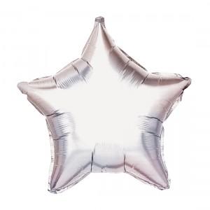 """Heliumballon """"Zilveren Ster"""""""