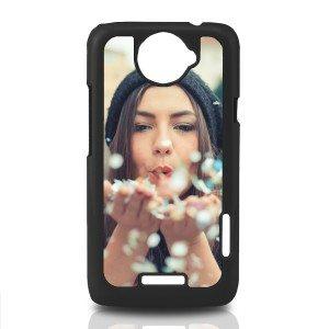 HTC One X cover met eigen foto - zwart