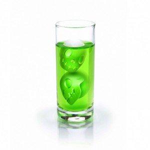 IJsblokjesvorm ''skull'' - nooit meer warme dranken!