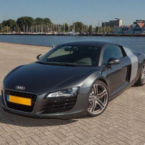 In een Audi R8 rijden - Breda