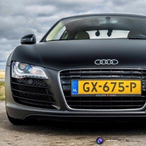 In een Audi R8 rijden - Hilversum