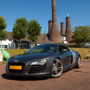 In een Audi R8 rijden in Arnhem