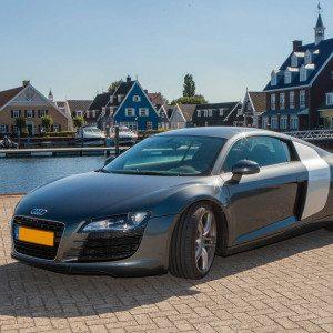 In een Audi R8 rijden - Lelystad