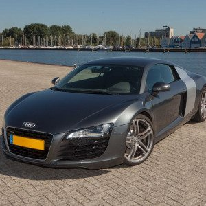In een Audi R8 rijden - Zwolle